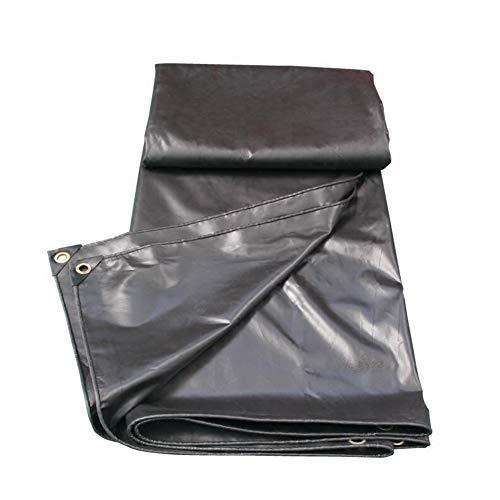 Dall bâche Bâche Extérieure Ombre Imperméable Multifonction 450g / M² Anti-Corrosion (Couleur : Noir, Taille : 4 * 4m)