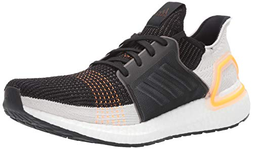 adidas Men's Ultraboost 19 Running Shoe, Trace Cargo/raw White/Solar Red, 11 M US