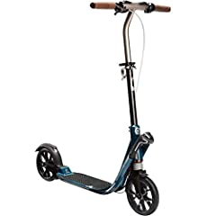 Ease of use Fold and unfold your scooter and handles in 1 second using the Easyfold design! Easy transport 7.4 kg making it easy to move in trolley mode. Brake control Second brake on the handlebar, just like on a bike. Cushioning Double suspensions ...