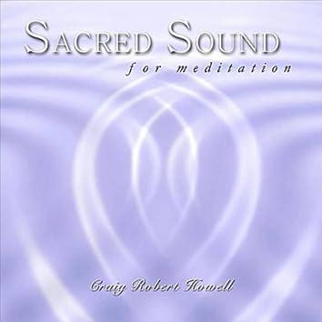SACRED SOUND FOR MEDITATION - EP