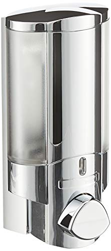 Better Living Products 76140 AVIVA Single Bottle Soap and Shower Dispenser, Chrome