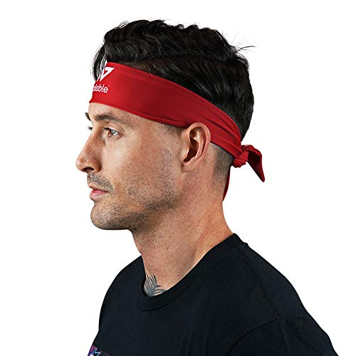 WODABLE Red Tie Up Performance Fascia Ninja Style Karate Kid taglia unica, unisex
