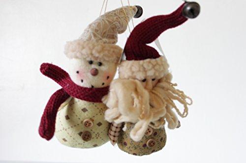 Country Creek Cintre Bonhomme de neige et Père Noël