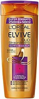 L'Oréal Paris, Elvive Olio Straordinario Ricci Sublimi, Shampoo idratante per capelli ricci o mossi, Confezione da 2 x 300 ml