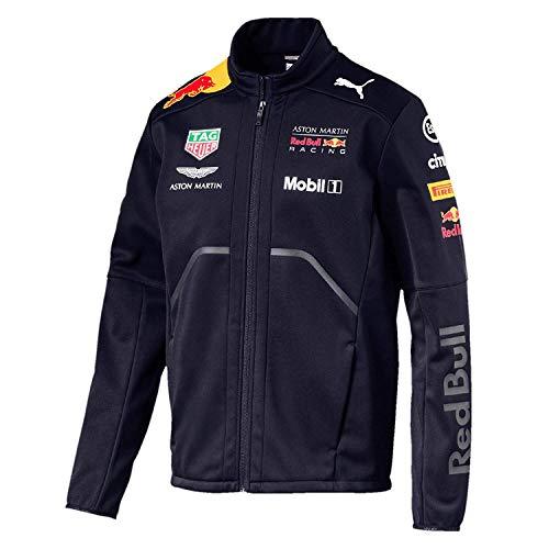 Aston Martin Red Bull Racing 2018 F1 Formel 1 Herren Softshell-Fleecejacke, L