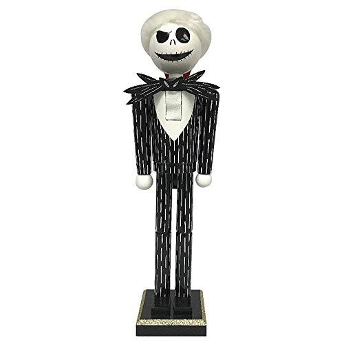 Nightmare Before Christmas The Jack Skellington in Striped Suit Nutcracker