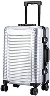 Luggage Box Fashion Horizontal Strip 24Inch Trolley Case Universal Wheel Travel Suitcasesuitcase,E,24inch