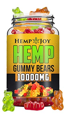 Hēmp Gummies for Stress Relief Organic All Natural Anxiety, Inflammation, & Pain Management Oil Omega 3, 6 & 9 Zero CBD