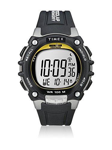 Timex Herren-Armbanduhr Sportuhren Ironman Traditional 100-Lap Digital Quarz T5E231SU
