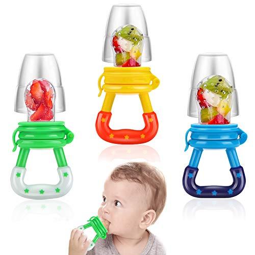 3 PCS Baby Food Feeder Fresh Fru...
