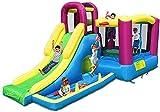 ZGYZ Casa de Castillo Inflable para niños Casa Hinchable de Fiesta para niños con soplador de Aire de Grado Comercial Incluido para niños al Aire Libre Castillo Hinchable para niños, tobogán de Agua