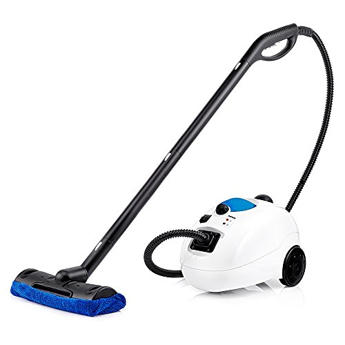 Dupray Home Steam Cleaner European Made for Disinfection and Cleaning Flooring, Kitchen, Bathroom, Cars and More