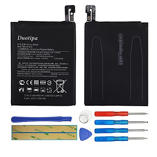 Duotipa Batería de repuesto BN45 compatible con Xiaomi Redmi Note 5 M1803E7SG batería con herramientas