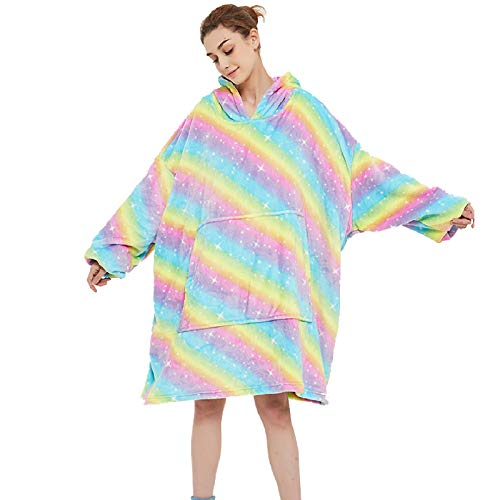 Una talla para todas las personas, sudadera con capucha de franela de gran tamaño, unisex con capucha, manta con capucha, manta para cama, manta súper suave y cómoda con capucha para primavera, verano