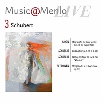 Music@Menlo LIVE, Schubert, Vol. 3