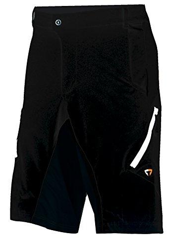 Briko MTB Pants Man Pantaloni Bici, Nero, L