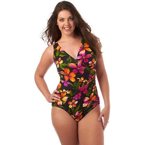 Miraclesuit swimsuit Oceanus plus size 18W