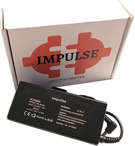 Impulse 65W 45W Notebook Netzteil - 5,5 x 1,7 mm - Ladekabel für Acer Aspire 1 3 5 A114 A311 A315 A515 A517 E15 E17 ES15 ES17 ES1 E1 E5 F15 F5 V14 V15 V17 V3 V5 V7 E5-571 E5-573 ES1-311 F5-572G V5-431