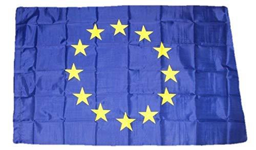 R&F srls Bandiera Europa Comunità Europea Nazionale Tessuto Misura Standard 90 X 150 cm