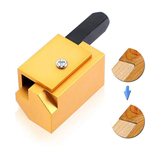 QPLKL Zimmerarbeiten Schnelldrehmeißel Holz Corner Meißel Platz Gelenkaussparungen Stemmen rechtwinklig Messer Schnitzen Meißel for Holzbearbeitung (Overall Length : Metal)
