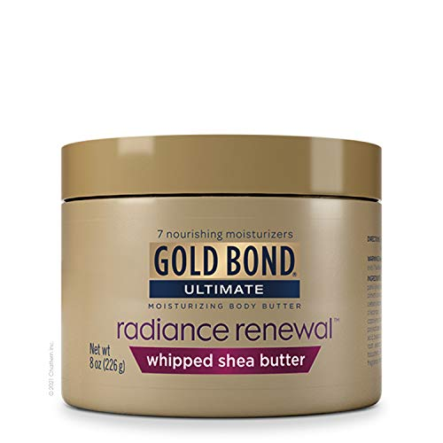 Gold Bond Radiance Renewal Cream Whipped Butter 8 Ounce