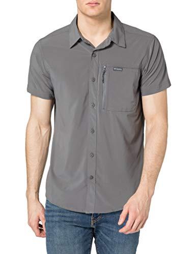 Columbia Triple Canyon II, Camicia A Maniche Corte Uomo, City Grey, XL