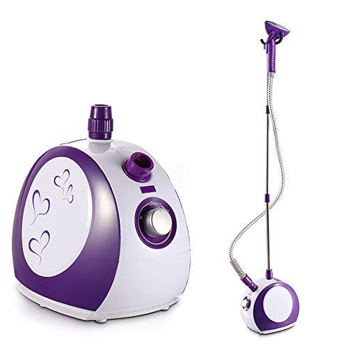 LYGACX Vertikaler Dampfgarer, 1750w Vertikaler höhenverstellbarer Kleidungsdampfer, 45s Schnelles Aufheizen, automatische Abschaltung, entfernt Falten, Gerüche und Desinfektion