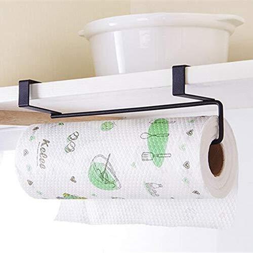 LANKOULI Tissue Box Papierhalter Kleiderbügel Tissue Roll Handtuchhalter Bad WC Waschbecken Tür hängen Organizer Lagerung Küchenrolle Papierhalter Rack