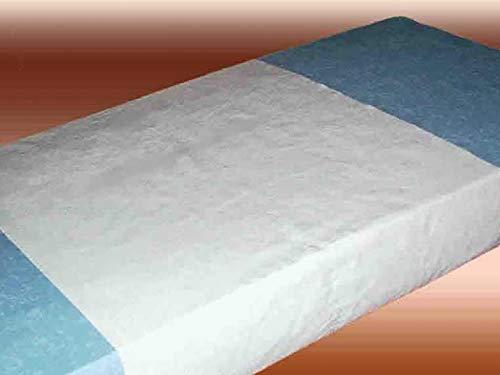 Matrasbeschermer, 80 x 190 cm, wasbaar, van katoen, waterdicht, herbruikbaar, voor baby's, kinderen en volwassenen beddekkingen tegen incontinentie en verlies. Gemaakt in Spanje.