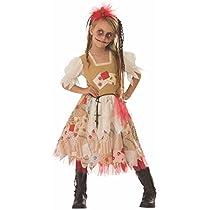 Rubies- Disfraz Voodoo Girl Inf, Multicolor, L (8-10 años)