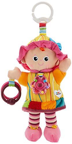 Tomy Lamaze – Cofanetto regalo Emilie Mon Amie L27871, include un peluche a clip per culla o passeggino e un collare per dentizione, giocattolo per il risveglio del bambino adatto alla nascita