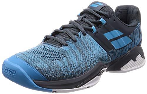 BABOLAT Propulse Blast AC Men, Zapatillas de Tenis Hombre, Grey/Blue, 36 EU