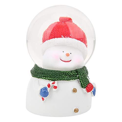 PINSHangFENg Sfera di cristallo di Natale Sfera di cristallo LED Luminosa Sfera di Cristallo Resina Regalo di Natale in Resina di Alta Qualità + Materiale Vetro