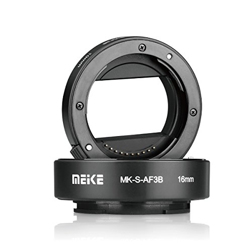 Meike Automatic Extension Tube for Sony E-Mount NEX-7 NEX-6 NEX-5R NEX-3N NEX-F3 NEX-5N NEX-5C NEX-C3