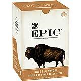 EPIC Bison Bacon Protein Bites, Whole30, Paleo Friendly, 8 ct, 2.5 oz Pouches