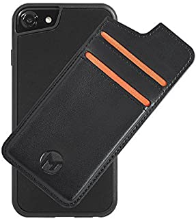 Mega Tiny Corp Anti Gravity Phone Case Compatible for iPhone   Hands Free Selfie   Nano Suction Technology   Stick to Wall   Includes Wallet Back Cover (8/7 / 6s / 6-4.7 inches)