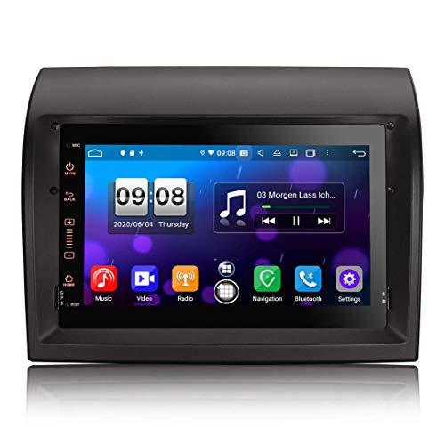 JIBO Android 10.0 Carro Estéreo Multimedia Jugador GPS Navegación 7' Tocar Pantalla Bluetooth SWC DSP Auto Radio Video Receptor por Peugeot Boxer 2011-2015 Multimedia Jugador