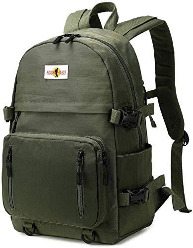 Zjcpow Backpack girl teenager boy school backpack with USB laptop satchel lightweight school bags for women men pink-Blue-A1_M xuwuhz (Color : Green A3, Size : Medium)