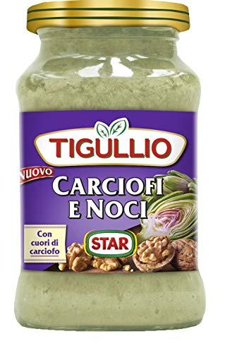 12x Star Tigullio Pesto Carciofi e Noci Sauce Soße Artischocken und Nüsse 185g