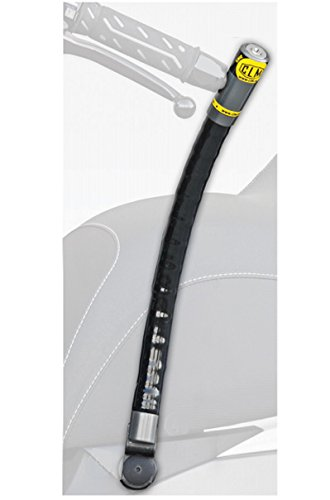 CLM 5727453 Antirrobo de Manillar Chic con Soporte Fix para Aprilia Srv 850Cc / Gilera Gp 800Cc 2008