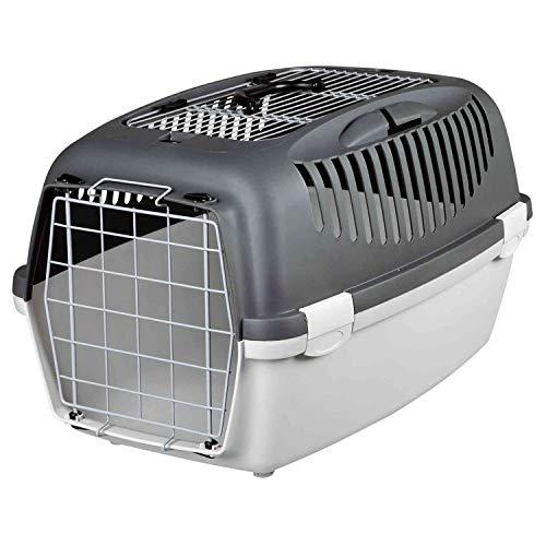 Trixie - Cage 61x40x38 cm avec ouvertures frontale et supérieure, pour le chien