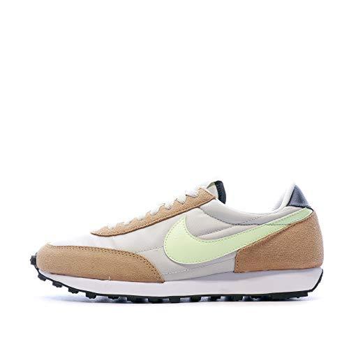 Nike Daybreak Sneaker stylische Damen Low Top Schuhe im Retro-Stil Freizeit-Schuhe Trend-Schuhe Grau/Braun, Größe:39