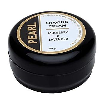 Pearl Shaving Cream – 80 grams (Black)