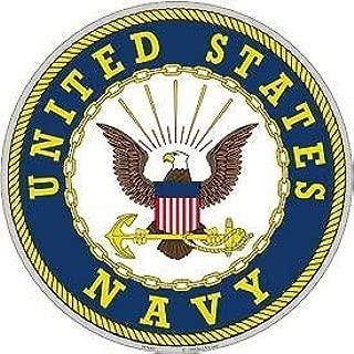 United States Navy Aluminum Sign Round 12