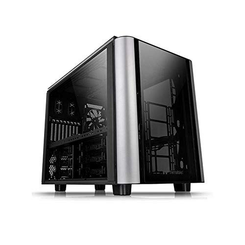 Thermaltake Level 20 XT PC-Case - Caja de Ordenador, Color Negro y Plata