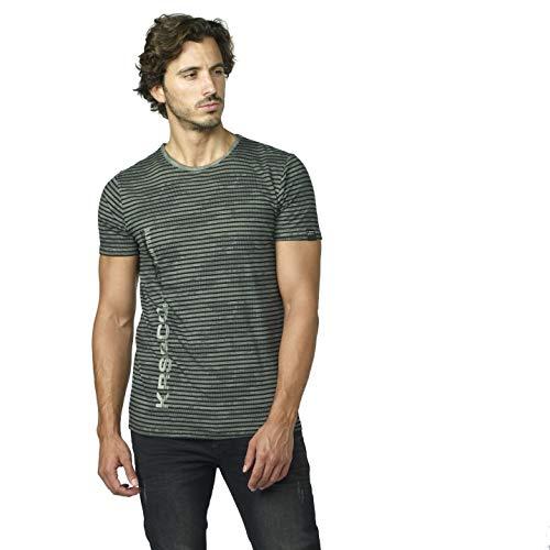 Koroshi Camiseta Estampada DE Rayas