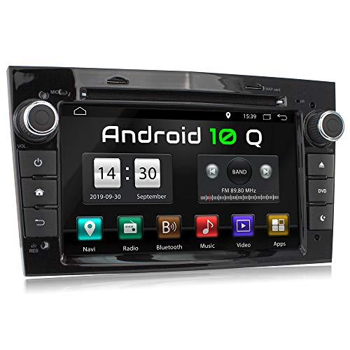 XOMAX XM-D04LA Autoradio mit Android 10 passend für Opel Corsa, Astra, Vectra etc. I 2GB RAM, 32GB ROM I GPS Navigation, DVD, CD, USB, SD I Bluetooth I 7 Zoll / 18 cm Touchscreen