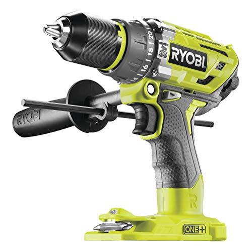Ryobi Akku-Schlagbohrschrauber (18 V, Schlagbohrfunktion, ohne Akku, Schnellspannbohrfutter, LED-Beleuchtung) R18PD7-0