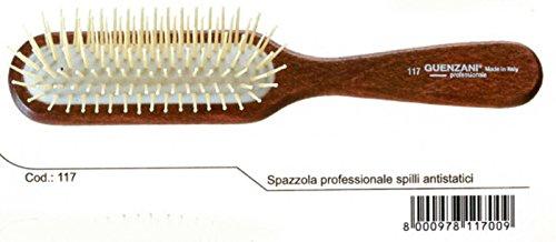 guenzani Brosse professionnelle épingles antistatiques N ° 117