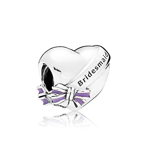 Pandora 925 Jewelry Bracelet Natural Authentic Sterling Silver Bead Best Bridesmaids Charm Fit Fashion Pan Bangle Suitable For Women Diy Gift